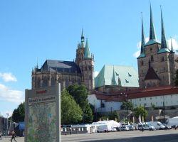 Erfurt-Domplatz